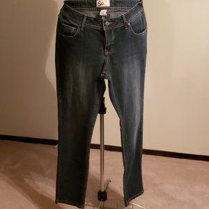 Midwash skinny jeans like new